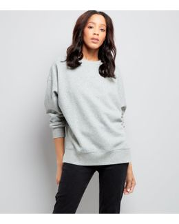 Grey Slouchy Jumpers
