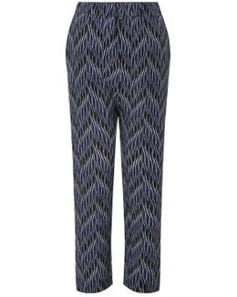 Ankle Length Relaxed Trouser