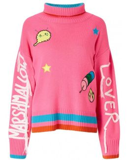 Marshmallow Lover Turtleneck Sweater