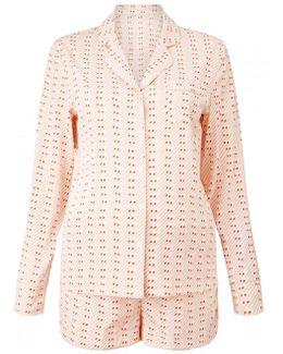 Matchstick Print Pyjama Set