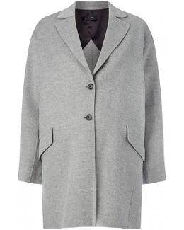 Light Double Cashmere Sido Short Coat