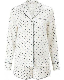 Poppy Snoozing Silk Pyjama Set