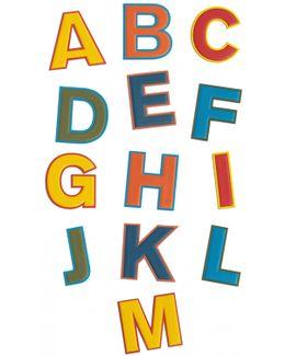 Oversized Alphabet Stickers