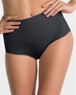 Retro Shape Black Knickers