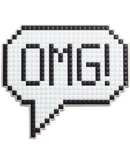 Oversized Omg Sticker