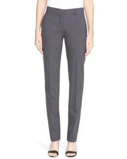 'super Slim Edition' Stretch Wool Pants
