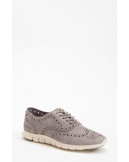 'Zerogrand' Perforated Oxford