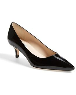 'minu' Patent Leather Pointy Toe Pump