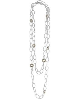 'enso' Long Station Necklace