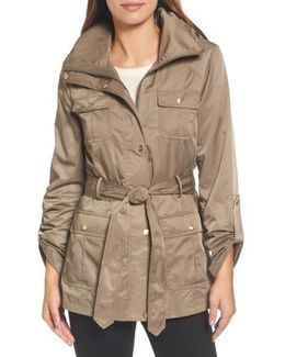Techno Short Trench Coat
