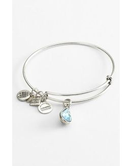 'charity By Design' Expandable Charm Bangle