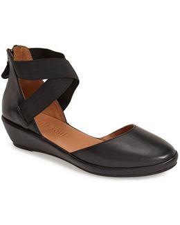 'noa' Elastic Strap D'orsay Sandal