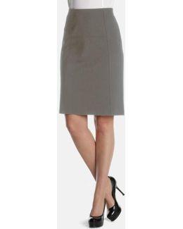 'new Flirt' Ponte Knit Skirt
