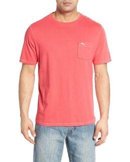 'new Bahama Reef' Island Modern Fit Pima Cotton Pocket T-shirt