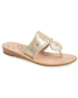 'capri' Thong Sandal