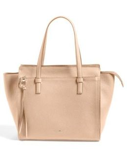 'fill Up - Large' Leather Tote