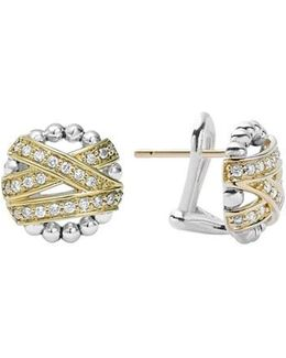 'diamonds & Caviar' Diamond Stud Earrings