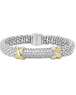 'diamond Lux' Rope Bracelet