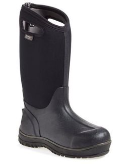 'classic' Ultra High Waterproof Snow Boot With Cutout Handles