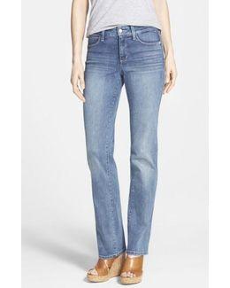 'marilyn' Stretch Straight Leg Jeans