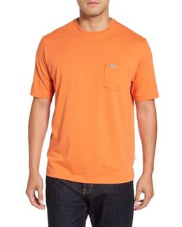'new Bali Sky' Pima Cotton Pocket T-shirt