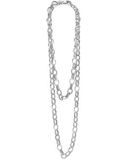'link' Caviar Chain Necklace