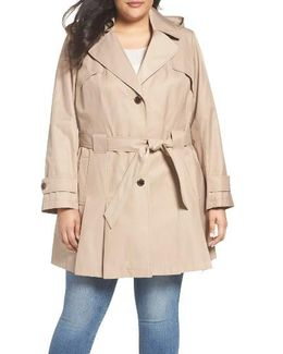 'scarpa' Single Breasted Trench Coat