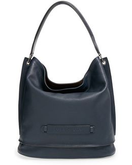'3D' Leather Hobo