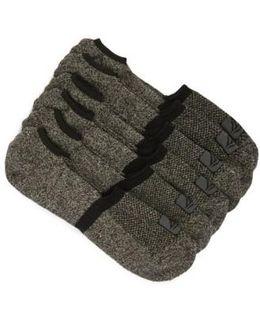 3-pack No-show Liner Socks, Black