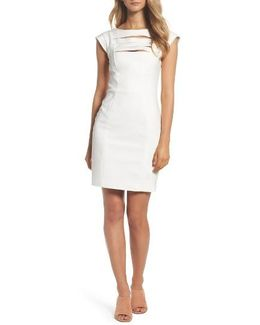 'estelle' Bar Front Sheath Dress
