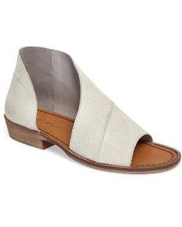'mont Blanc' Asymmetrical Sandal