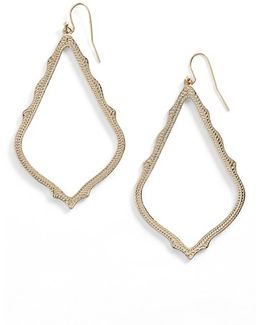 'sophee' Textured Drop Earrings
