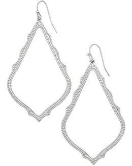 'sophee' Textured Drop Earrings