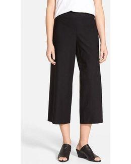 Wide Leg Crop Pants