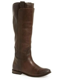 Paige Leather Tall Riding Boots