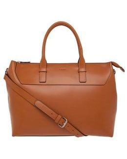 Audrey Wilhelmina Leather Work Satchel