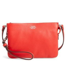 'cami' Leather Crossbody Bag