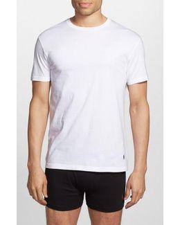 Classic Fit 3-pack Cotton T-shirt, Black