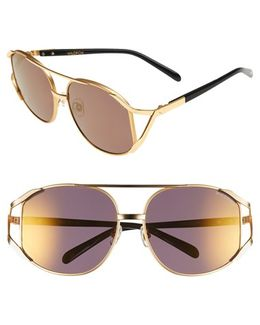 'dynasty Deluxe' 59mm Retro Sunglasses