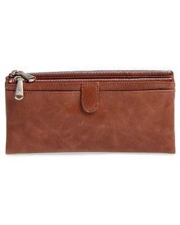 'taylor' Glazed Leather Wallet