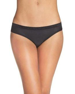 'safari' Lace Trim Bikini