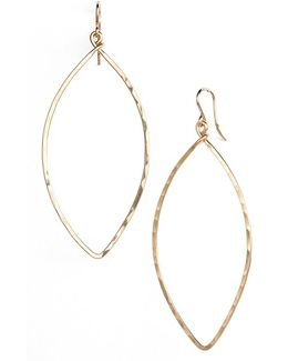 Ija Oblong Hoop Earrings
