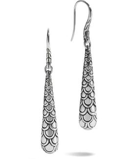 'naga' Scale Drop Earrings