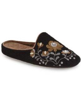 Flower Scuff Slippers