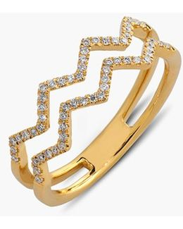 'prism' 2-row Diamond Ring (limited Edition) (nordstrom Exclusive)