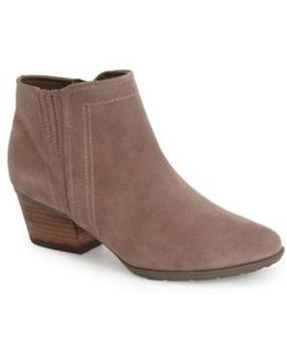 Valli Water-Resistant Suede Ankle Boots