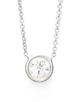 Large Diamond Solitaire Pendant Necklace (limited Edition) (nordstrom Exclusive)
