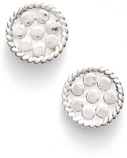 'gili' Mini Disc Stud Earrings