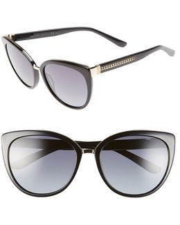 'danas' 56mm Cat Eye Sunglasses