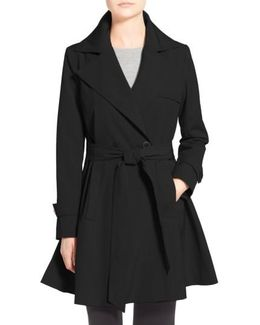 'phoebe' Double Breasted Trench Coat